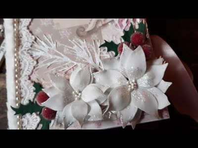 Embellishment Christmas Tilda Book Box Swap For Evelyn