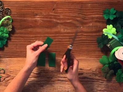 How to Create a Felt Shamrock - HGTV - Weekday Crafternoon