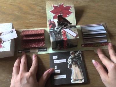 Merribox- Christmas eploding box card