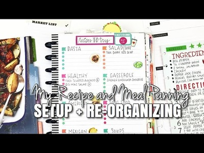 My Recipe and Meal Planning Setup + Re-Oranization | At Home With Quita