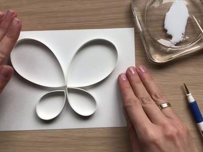 QllArt | Quilling Butterfly | Квиллинг бабочка