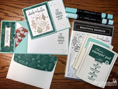 Stampin' Up! Beautiful Baubles Gift Card Holder