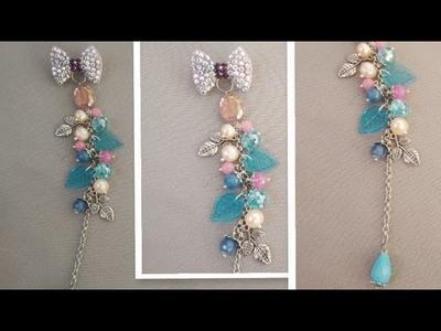 TUTORIAL BROS FLORAL BATU ALAM ( BROS KISAH KASIHKU ). how to make jewelry. brooch