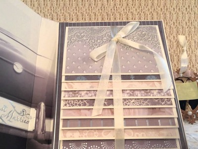 Waterfall Wedding Album, Ornament and Cards