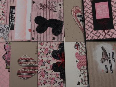 10 Cards 1 Kit - Simon Says Stamp Feb 2019 - Love Always