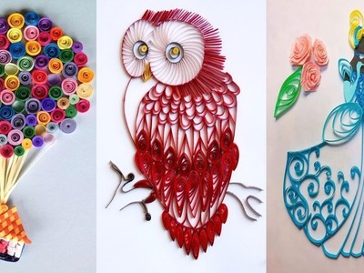 15 Lovely Paper Crafts - DIY Craft Ideas - Very Easy To Make