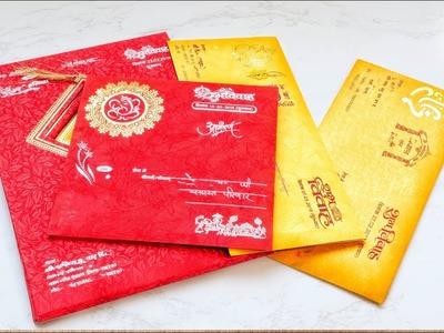 Best Reuse of Waste Marriage Card Craft Idea | #DIY Crafts | Artkala