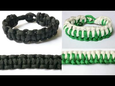#Bracelets #Menbracelets |Friendship bracelets|Making Easy paracord bracelets|Friendship band making