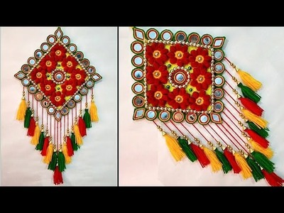 DIY Beautiful Wall Hanging. Traditional Rajasthani Wall Hanging Idea