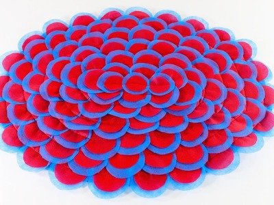 Diy Mind Blowing Doormat!!! Paposh Design !!! DIy Ideas!!!