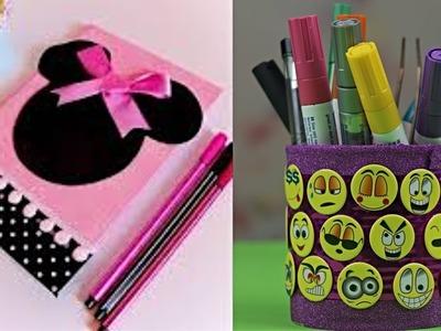 DIY School Supplies! Easy DIY Craft for Back to school! Hacks & Pranks