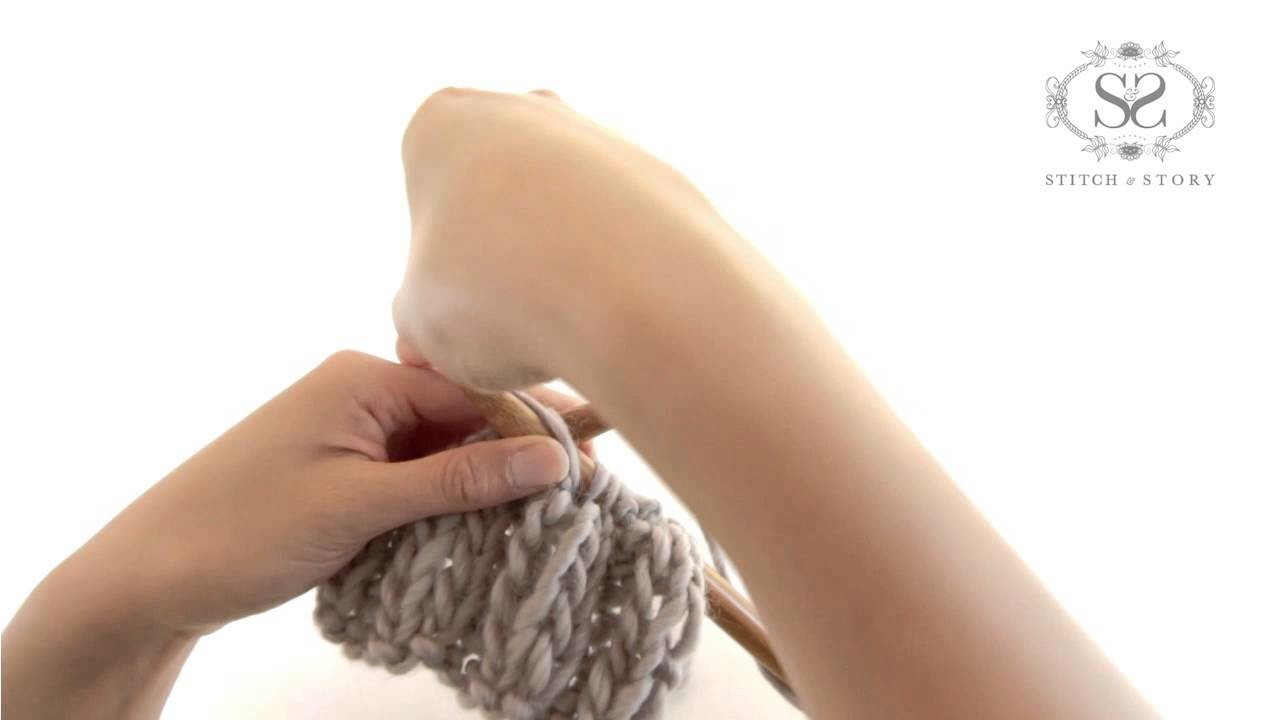 HOW TO CREATE RIB STITCH - KNITTING TUTORIAL