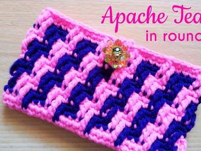 How to Crochet a Phone Pouch (Apache Tears)