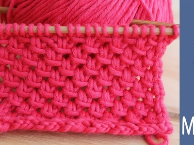 How to knit the most charming Lace Mesh pattern, step by step