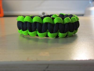 How To Make A Cobra Paracord Bracelet