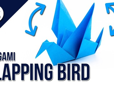 How to make a flapping paper bird ???? - Origami Tutorial