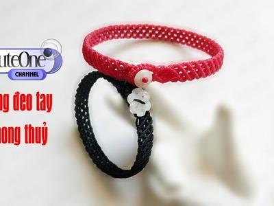 How to make feng shui bracelets | Vòng tay phong thuỷ từ dây cói
