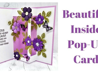 Inside Pop Up Card | Cardmaking with my Mum