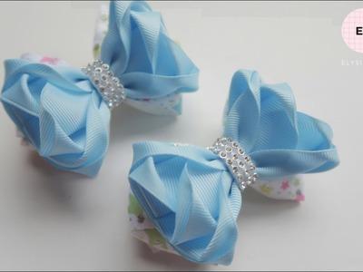 Laço De Fita ???? Ribbon Bow Tutorial #27 ???? DIY by Elysia Handmade