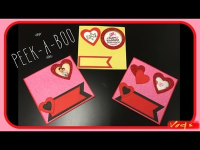 Peek-A-Boo Slide Card. Photo Changing Card (Valentines Day 2019)