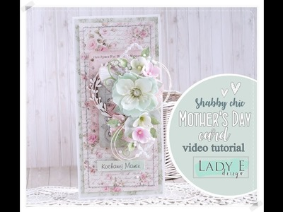 Shabby Chic Mother's Day Card step by step