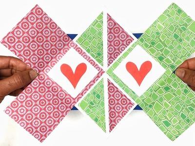 Surprise Squash Maze Popup card - DIY Tutorial by Paper Folds - 981