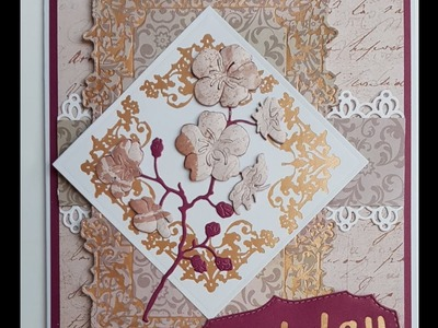 Working with corner hot foil stamps