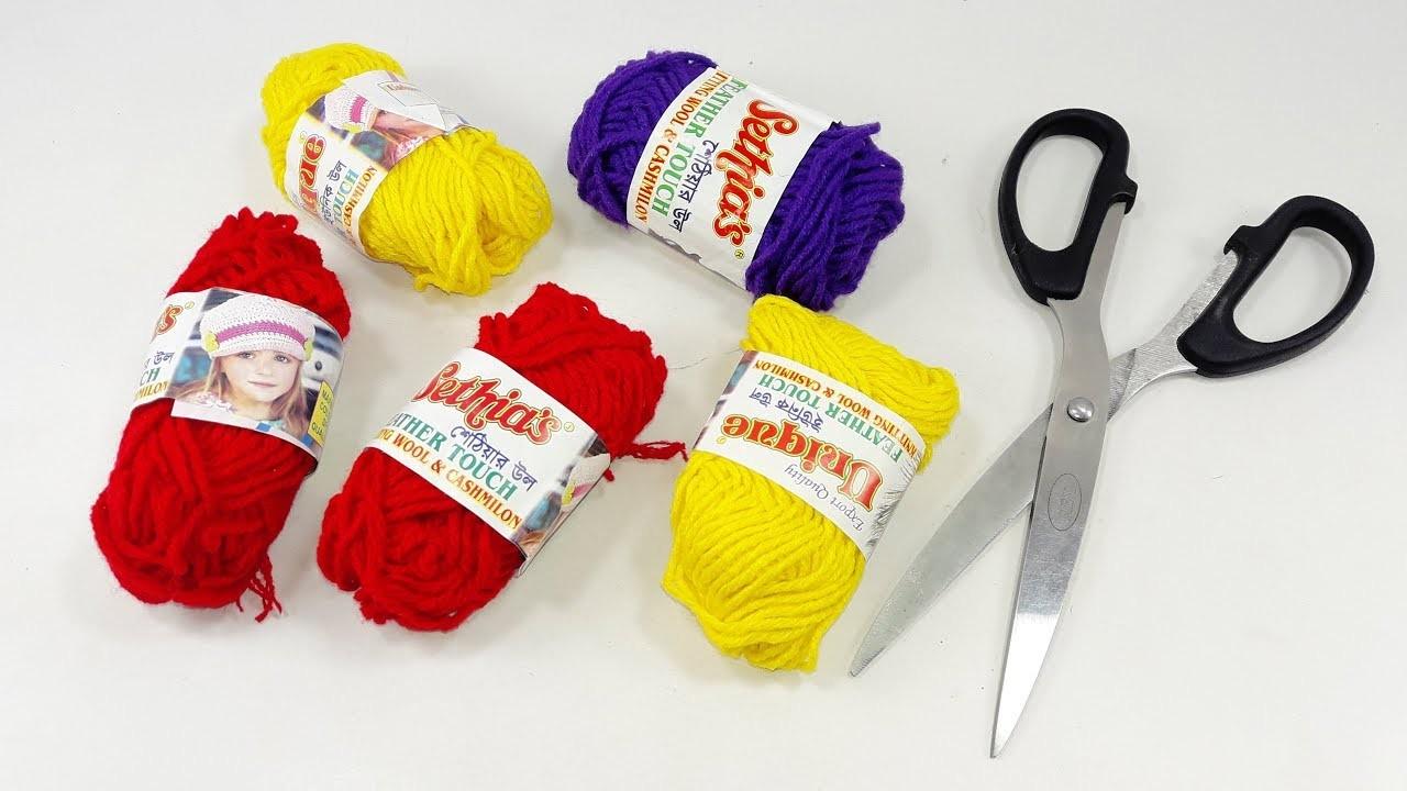 Wow !! Diy Woolen craft idea | DIY arts and crafts | Best craft idea | Diy wall hanging