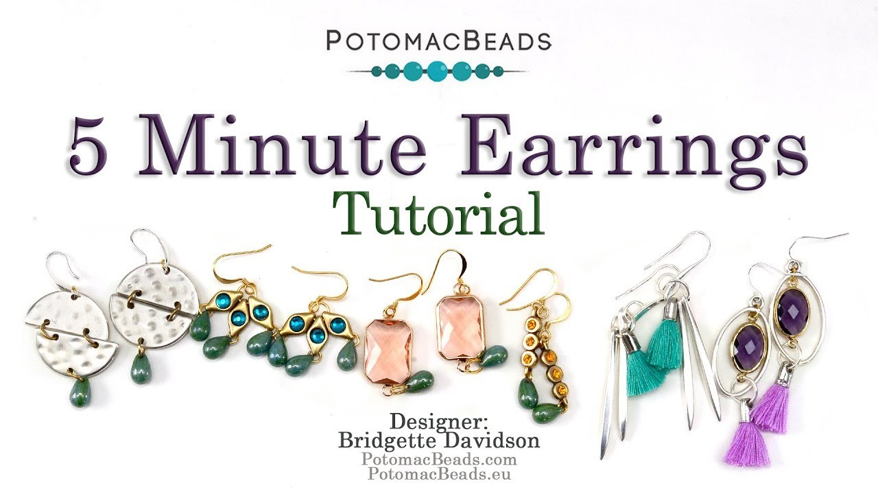 5 Minutes Earrings - Simple Beading Project