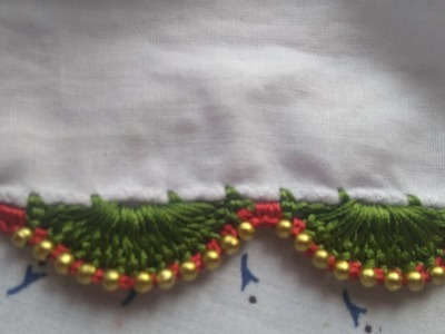 Avani -How to make insert beads in arch
