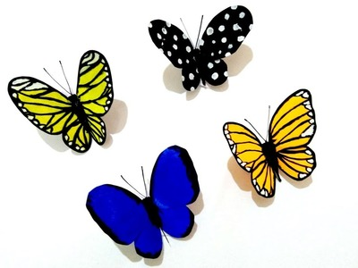Butterfly DIY paper craft.amazing paper butterfly.how to make paper butterfly