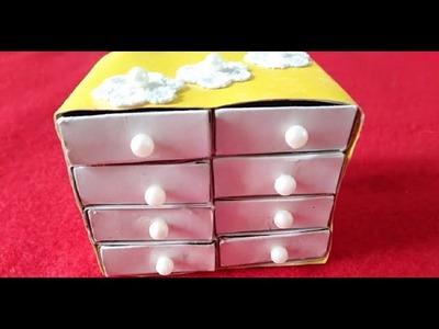 DIY art and crafts with Match Box|Waste Matchbox reuse idea|Matchbox Crafts