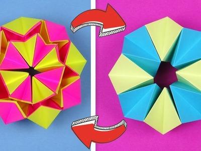 DIY crafts easy - Paper toy antistress transformer