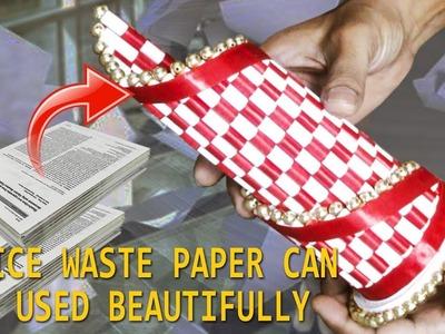 DIY Paper Flower Vase Making | How to Make A Flower Vase At Home | Simple Paper Craft | Paper Pot