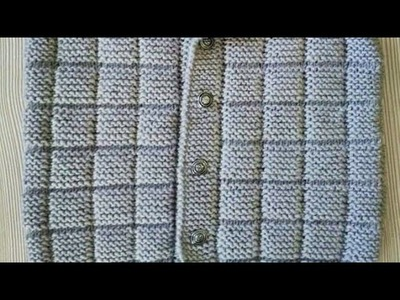 Easiest Knitting Tutorial of 2019.Designer but Simple Sweater for Beginners:Design-253
