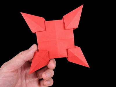 Easy #Origami Paper Ninja star - How to Make Ninja star Step by Step