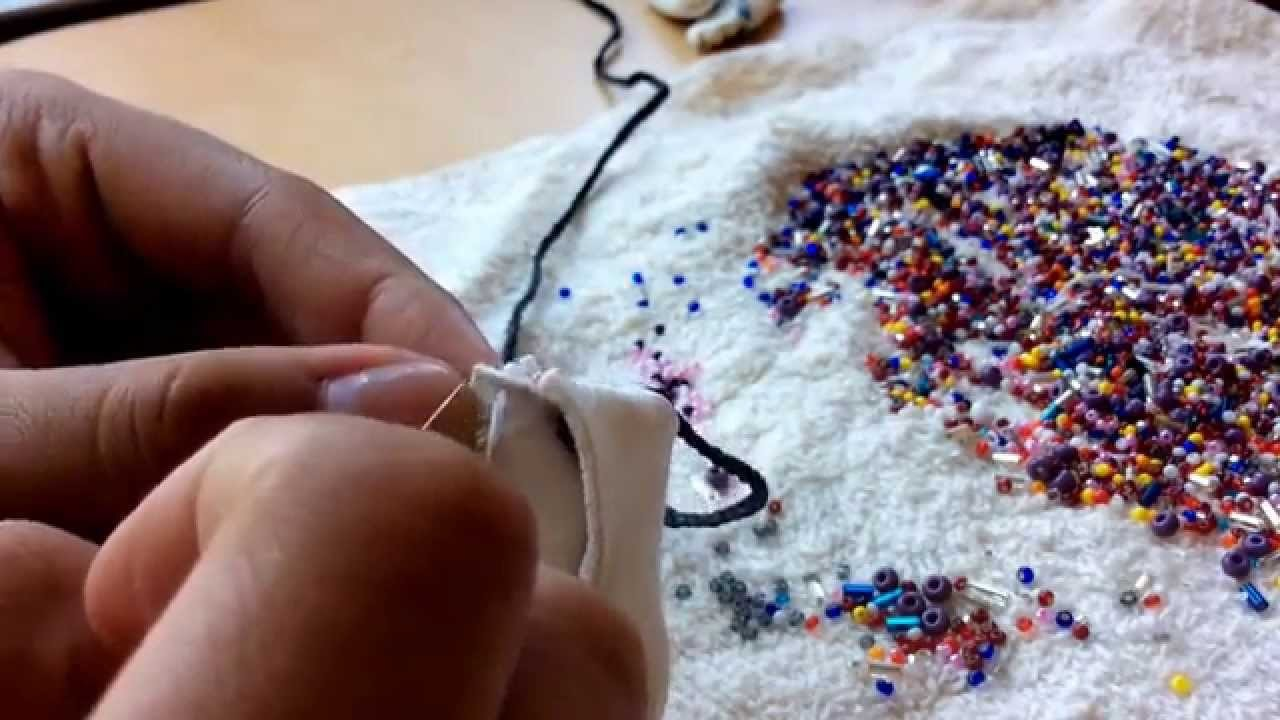 How To Add Trim Beading on Moccasins