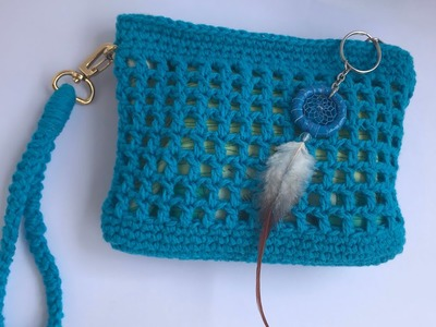How to Crochet The Sak-inspired Pouch