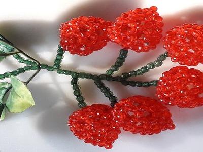 How To Make Beaded Fruit  Litchi – পুতির লিচু – Beads Lichu – পুতির ফল – Putir Fol