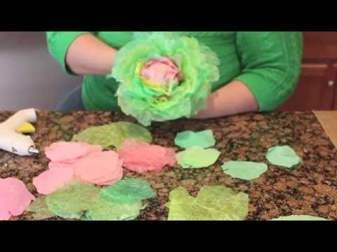 How to Make Coffee Filter Cabbages Part 2