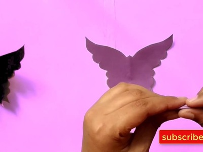 How to make color paper craft things ????????| kagojer jinish fuldani |