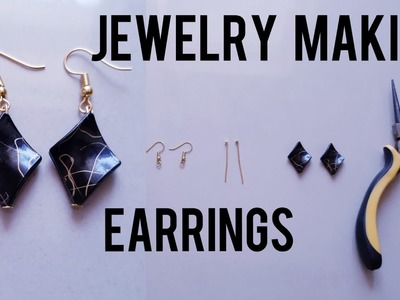 How to make earrings in 1 minute || Jewelry  tutorial