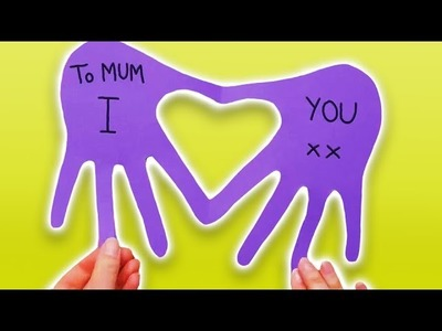 How To Make Easy Mother's Day Cards From Paper (2019)