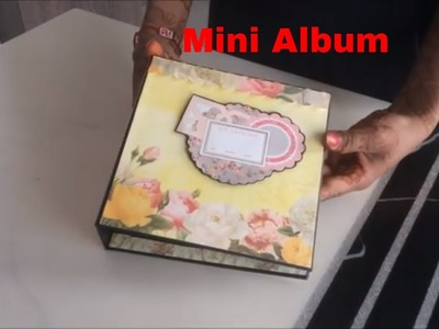 How to make mini scrapbook|small scrapbook ideas|Best gift for best friend|Easy to make| Beautiful