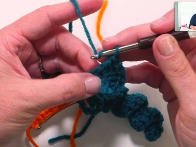 Learn how to crochet corkscrew or twisty crochet stitches