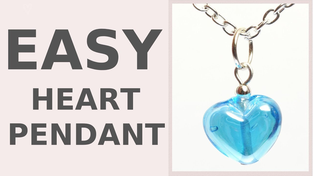 Make a Heart Necklace in 5 minutes | DIY Wedding Accessories | Iza Beads