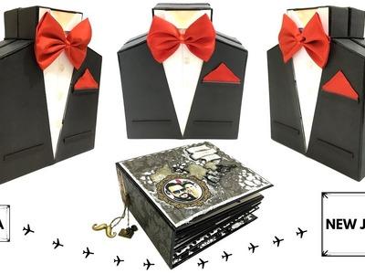 Mini Album | Birthday Card For Him | Birthday Scrapbook Ideas | Blackbands