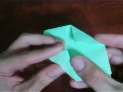 Origami - How to make an origami cube