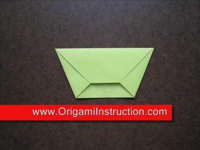 Origami Instructions Origami Trapezoid Envelope