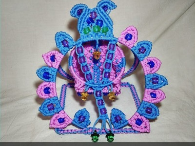 { PART -2 }Macrame New Design Krishna. Kanha Jhula Tutorial In Hindi || Part - 2 || Full HD